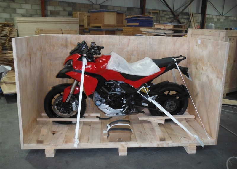 Motorcycle Shipping Crates